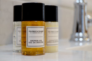The Charleston Chestnut Bathrooms Are Stocked With Gilchrest & Soames Bath Products