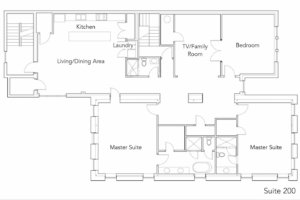 Suite 200 Floor Plan