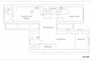 Suite 300 Floor Plan